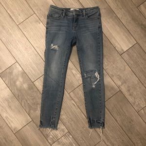 Distressed/ripped free people jeans